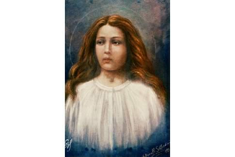 Maria Goretti, in un dipinto del 1929