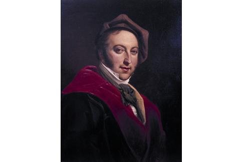 Ritratto di Gioacchino Rossini, opera di Constance Mayer