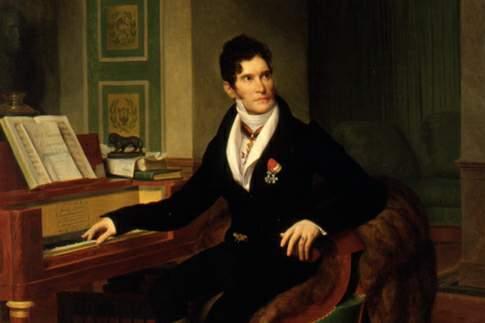 Ritratto di Gaspare Spontini, opera di Louis Hersent