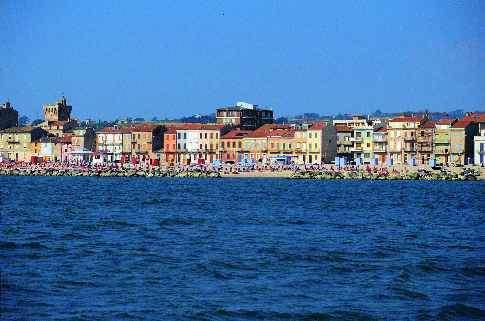 Veduta di Porto Recanati