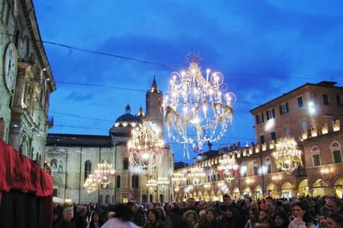 Carnevale ascolano in Piazza Arrigo
