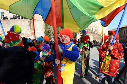 Le sfilate del Carnevale Fermano