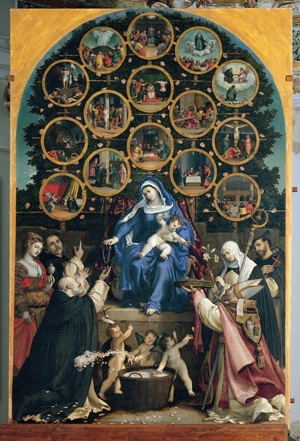 Madonna rosario cingoli lotto