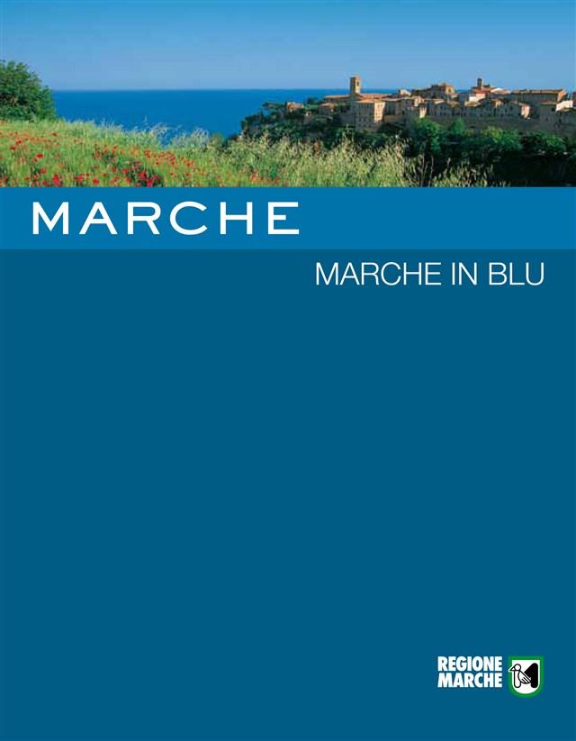 marche in blu