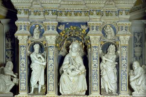I Della Robbia ad Arcevia e nelle Marche