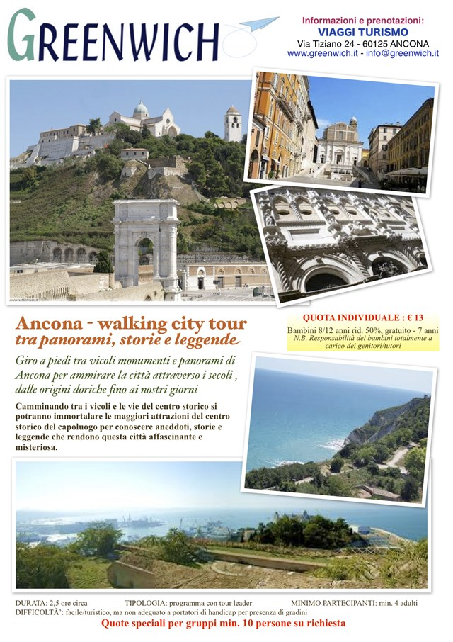 Ancona walking city tour