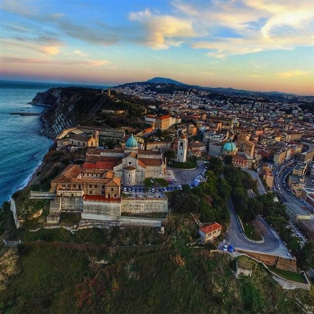 Ancona dall'alto