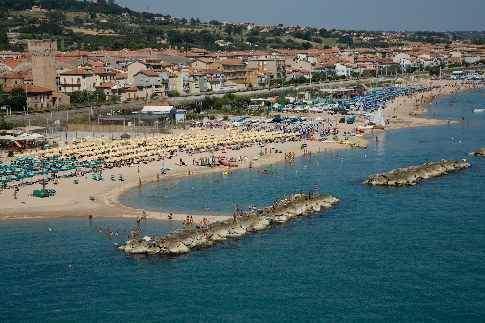 Porto Potenza Picena Spiaggia Libera